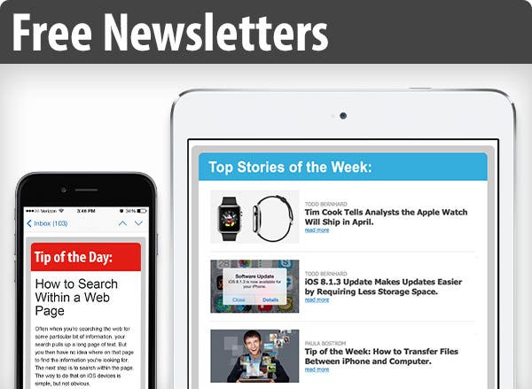 Free email newsletters