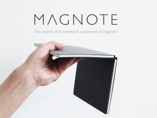 MAGNOTE -The world's 1st notebook composed of magnets