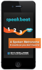 New iOS Metronome App SpeakBeat Tells You Where You Are In The Bar.