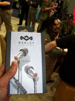 House of Marley Rocks CES 2013! Reporting live from CES!