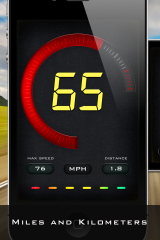 New Speedometer™ app - Liquid Based Speedometer