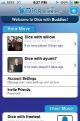 Dice with Buddies: It's words with friends meets yahtzee!