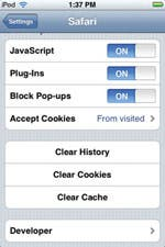 Safari - how to clear your cache