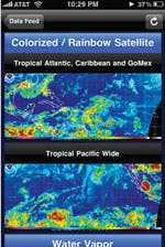 Hurricane Tracking App