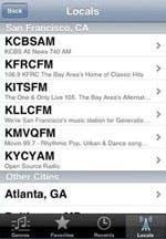 AOL Radio Locales