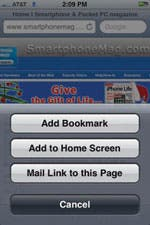 Share web links from Safari