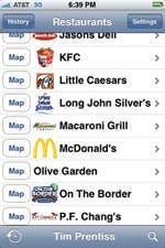 Edibles Restaurant App