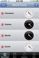 Worl Clock