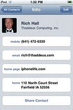 Contacts - address