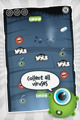 "A ""virus-invaded"" game appeared today on iTunes App Store"