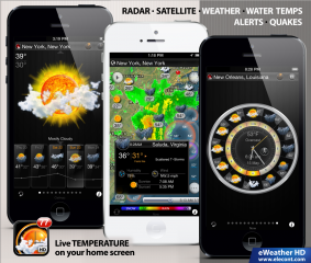 eWeather HD 2.9 - Prepare for Unpredictable Summer Weather