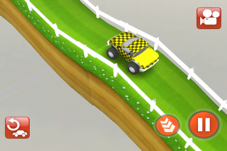 Itsy Cars lets you build your very own racetrack.