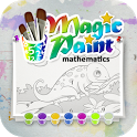 Magic Paint with Math: Funny Math Tutor for Kids