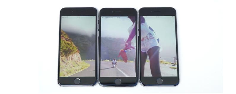 Merge Up to 3 iPhone Screens for Video and Photo Viewing