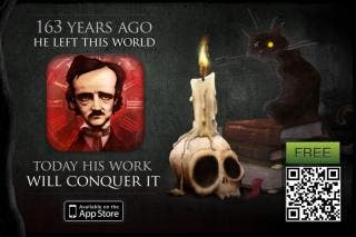 Next October 7 marks the 163rd anniversary of Edgar Allan Poe's death.