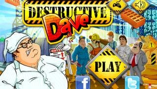 Destructive Dave gives you an outlet to vent all your anger as you embark on a destructive spree