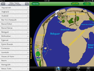 Middle-earth Map II v1.0 is available today on the iTunes App Store