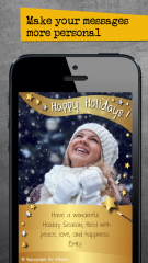 Appygraph eCards Updated for iOS 7: Adds New Look and improved Sharing for the Holidays