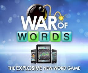 War of Words Free 3.0 for iOS - Online, Crossword Game with Bomb Tiles