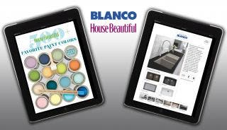 BLANCO and House Beautiful launch new iPad App: 500+ Favorite Paint Colors
