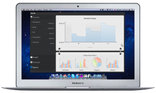 Preview of MoneyWiz for Mac