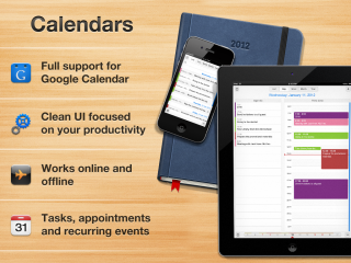Calendars 3 increases users' productivity on iPad and iPhone