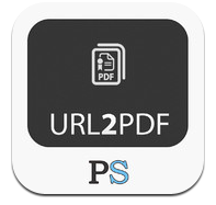 URL2PDF - convert url, links, web pages to pdf in an easy way