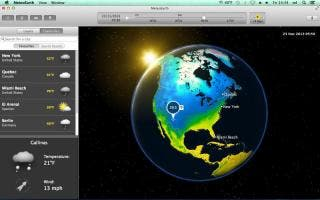 MeteoEarth now brings the weather to life on the Mac