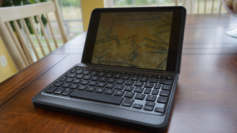 Zagg Rugged Folio Sturdy Case Meets A Tough Keyboard