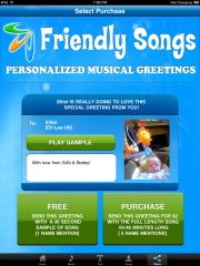 Free Singing Personalized Messages from SANTA (App)