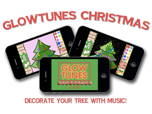 GlowTunes Christmas reinvents the Christmas tree on iPhone and iPad