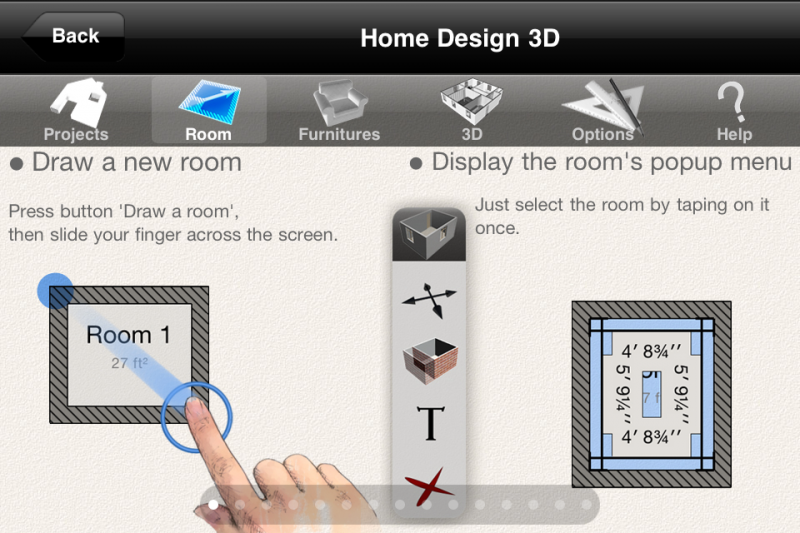 Home Design 3D Is An Exceptional Design App. The Menus Are Intuitive, And  Easy To Use. My Wife Especially Liked The Concept Of This App.