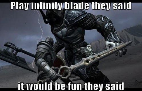 Infinity-Gate: Update Erases Thousands of Infinity Blade III