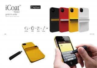 OZAKI iCoat Finger, iPhone case for stylus lover