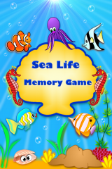 Sea Life Matching Pairs Memory Game for iPhone, iPod Touch and iPad!