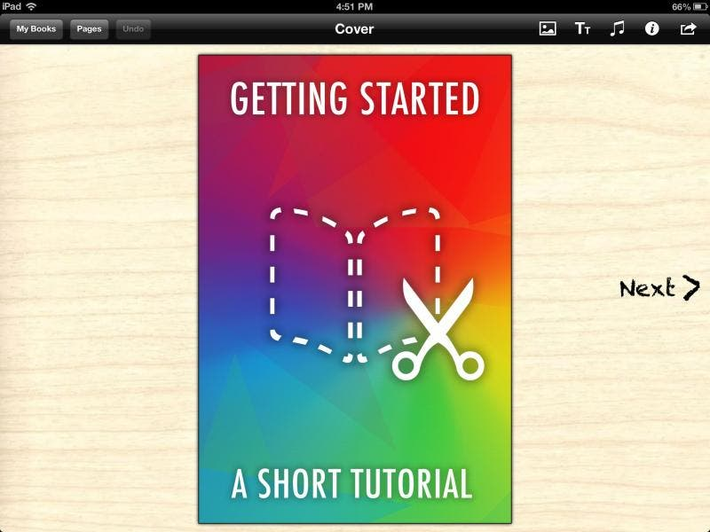 Quick Look - Book Creator for the iPad | iPhoneLife com