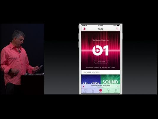 Introducing Apple Music/Beats1: One Place, One Complete Thought Around Music.
