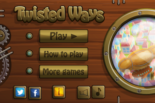 TwistedWays - a new iPhone puzzle game, where your next move will decide if you succeed or are sent back to where you started