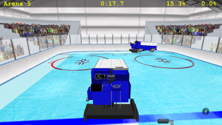 Zamboni Challenge - now supports iPhone 5 and iOS social networking