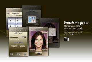 The Watch Me Change Face App: Time Lapsed Videos to Document Life's Special Moments
