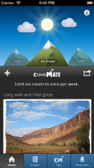 Hello CraveMate™, Goodbye Junk Food!!!  A simple and creative smartphone app designed to help you end hardwired junk food cravings and unhealthy eating habits.