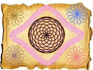 Spiral Art for iPad draws spirographs along any path you create