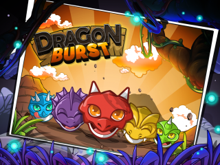 Dragon Burst Frenzy for iPhone and iPad | Dragon chain reaction puzzle game!