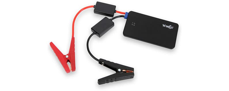 Weego Jump Starter Battery+ Charges Everything from Your iPhone to Your Car