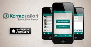 Karmasation Available on the iPhone App Store