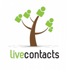 Contacts in your phonebook come alive: application announcement – LiveContacts – for iOS, Android, Windows mobile and Symbian OS.