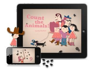 Appracadabra's Count the Animals! wins Best Educational App Award