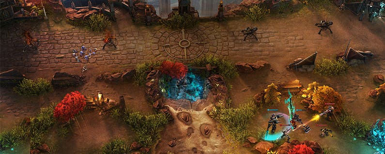 MOBA Madness: The Top 2 Multiplayer Online Battle Arenas for iOS