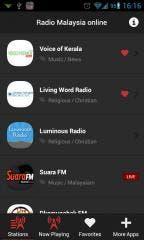 "With ""Radio Malaysia Online"" Android Application, Listening to the Malaysian Radio Stations has never been Easier"