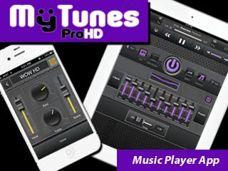 All New MyTunes Pro Music Player App for iPad and iPhone